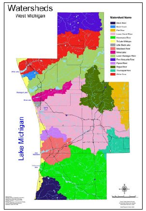 West Michigan Watersheds